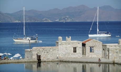 The view over the harbour from Culinarium, Datça town