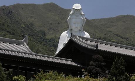 Tsz Shan monastery in Hong Kong.