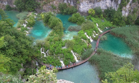 Plitvice Lakes national park, UNESCO World Heritage Site, Croatia. (Photo by Cristina Arias/Cover/Getty Images)huty19037