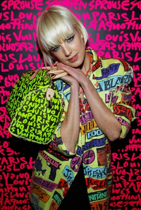 Agyness Deyn attends the tribute to Stephen Sprouse after party hosted by Louis Vuitton