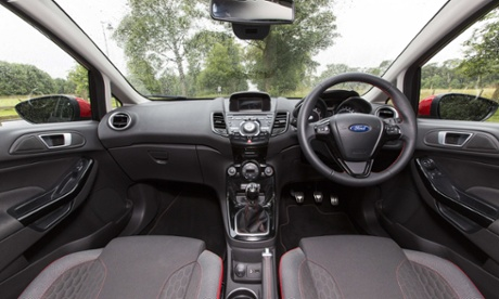 Inside story: the open and spacious cockpit is a surprise considering how small the car's road print is.
