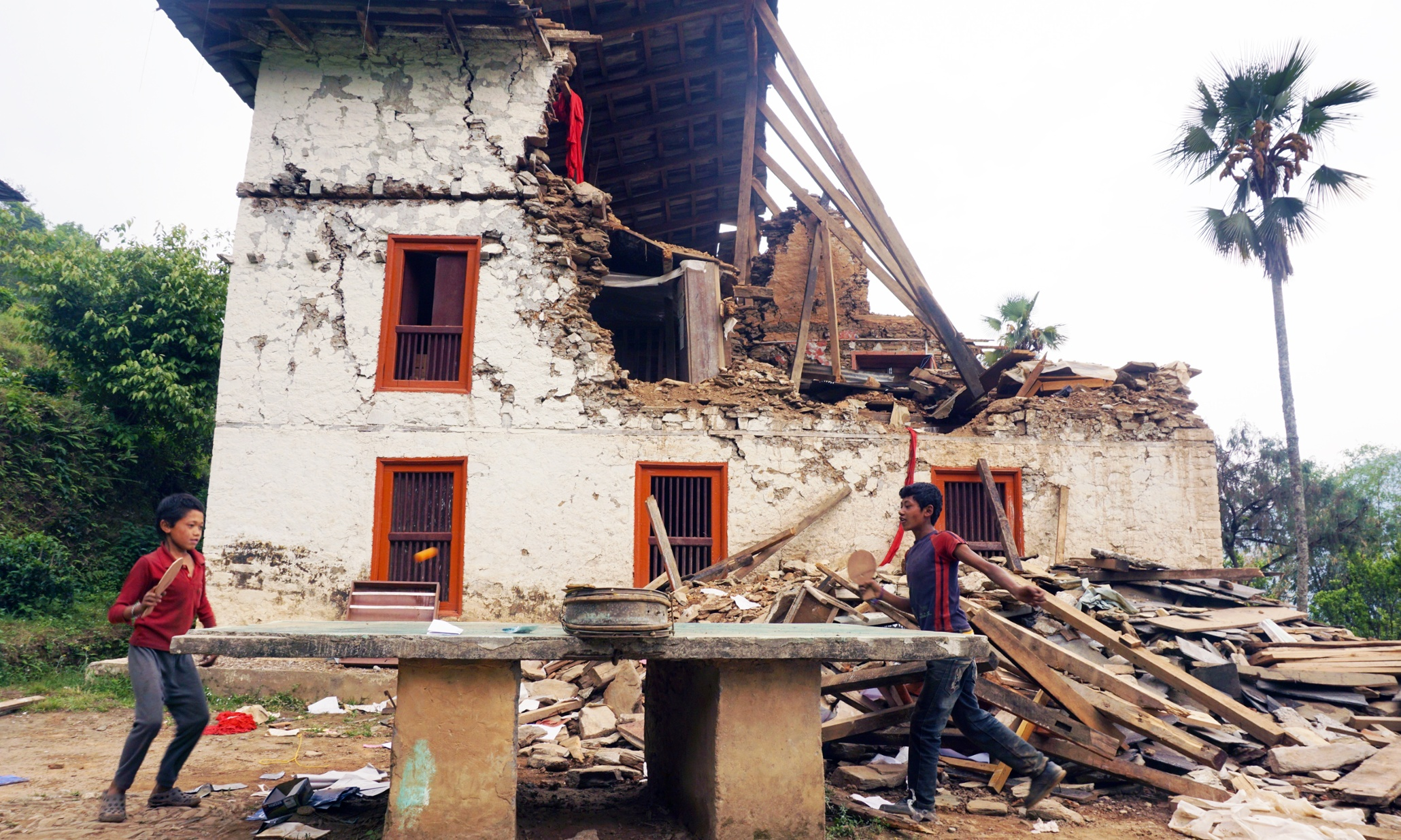 Nepal Earthquakes Shattered Schools Remain Closed In