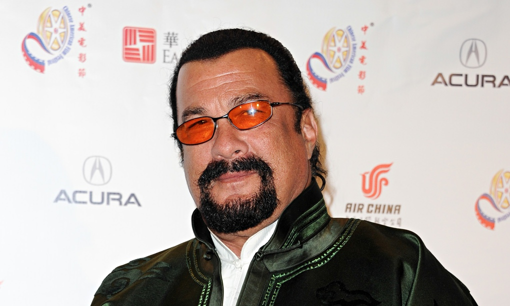 Steven Seagal: 'I like to go after murderers, bank robbers, rapists ...