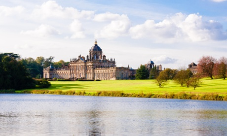 Castle Howard is a few miles from Malton.