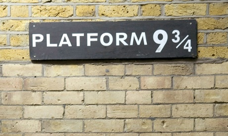 photo relating to Platform 9 3 4 Sign Printable known as JK Rowling: why I selected Kings Cross for System 9 ¾
