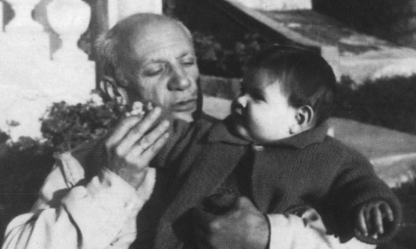 Pablo and Marina Picasso