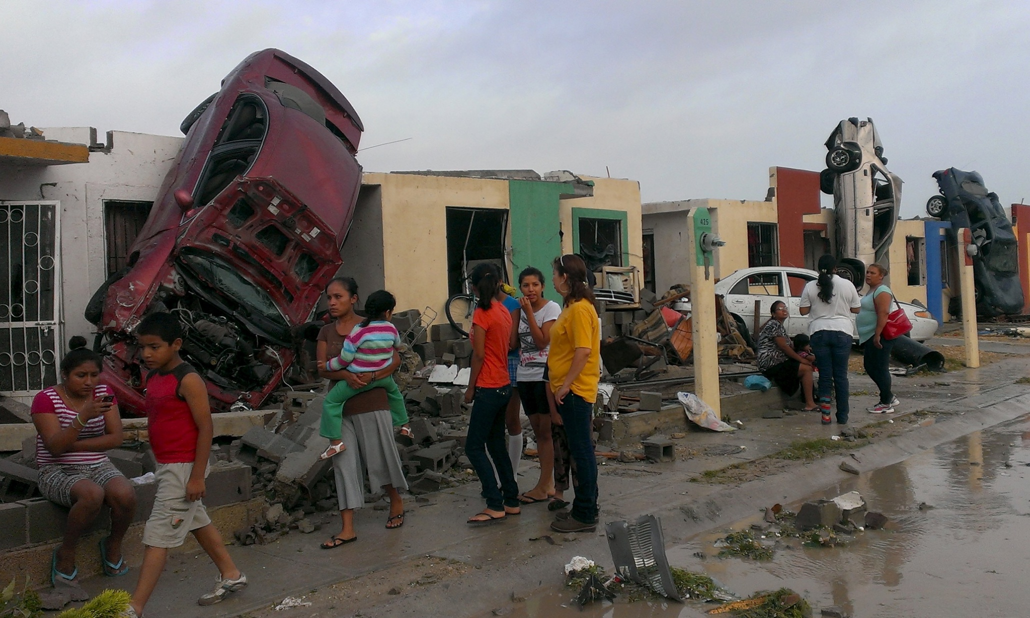 Mexico tornado kills 13 people in Ciudad Acuna on US border - The Guardian