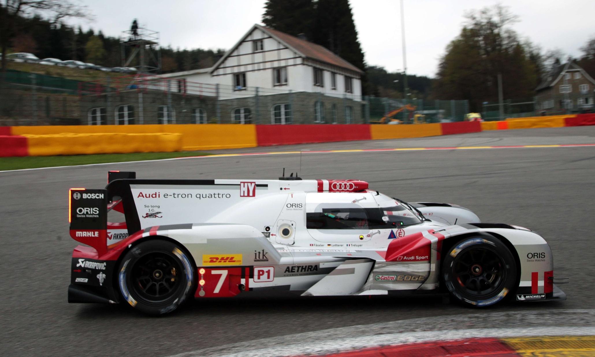Audi Win Over Porsche At Spa The Perfect Precursor To Le