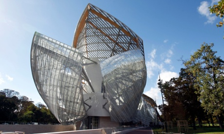 The Louis Vuitton Foundation for Creation, designed by Frank Gehry