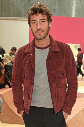 Robert Konjic at the Coach Men's Spring 2016 Presentation.