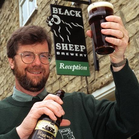 Paul Theakston of the Black Sheep Brewery, Masham, North Yorkshire.