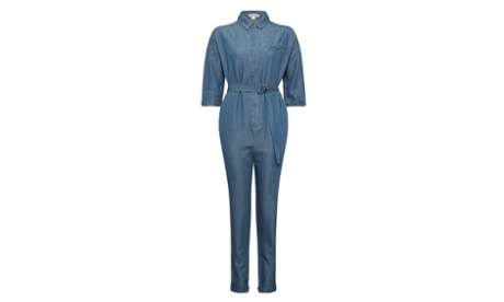 Whistles Chambray Shirt Jumpsuit. £160