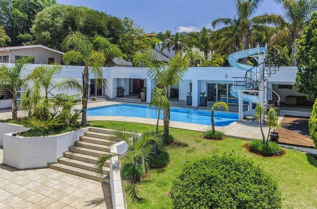 1How Much Would You Pay For This Six Bed House With A Pool (and Water  Slide) In Johannesburgu0027s Affluent Northcliffe Suburb? Extras Include A  Trampoline And ...