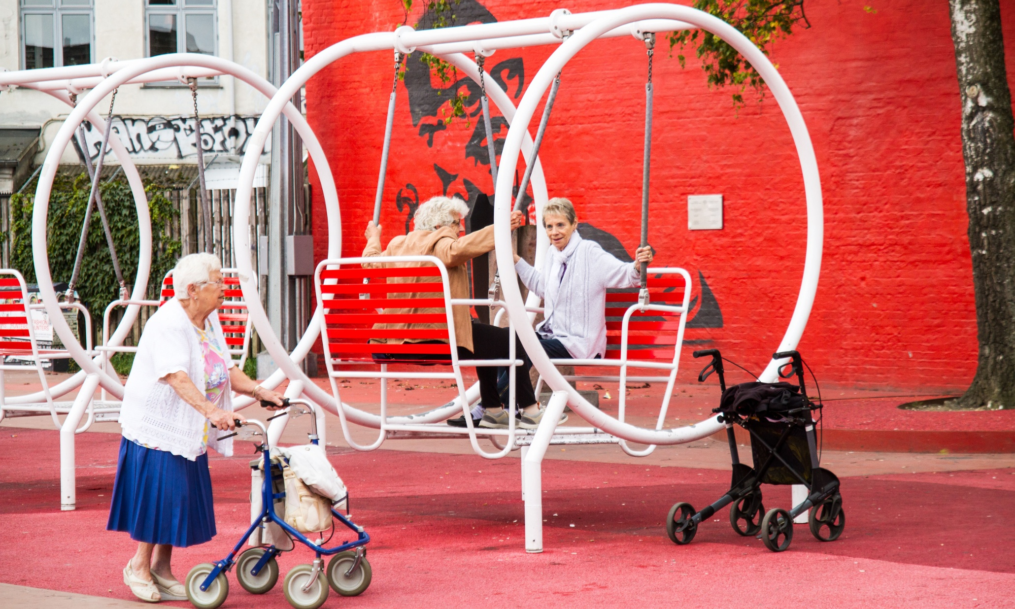 The Rise Of Urban Playgrounds For The Elderly Cities