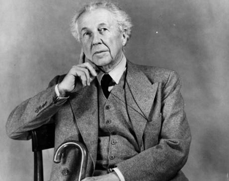 American architect Frank Lloyd Wright (1867 - 1959).