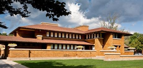 Darwin D. Martin House by Frank Lloyd Wright, Buffalo, New York
