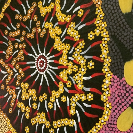 A work from the Central Desert fine arts gallery, Albury, NSW.