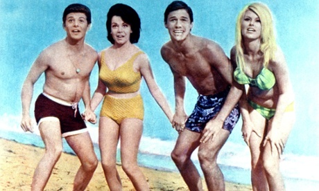 Beach Blanket Bingo: Frankie Avalon, Annette Funicello, Mike Nader, 1965.
