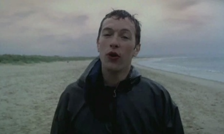 Chris Martin in the video for Yellow.