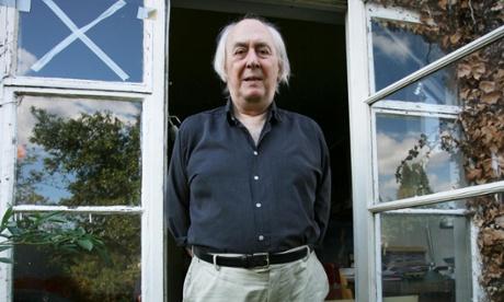 JG Ballard at his home in Shepperton, Surrey, 2006.