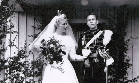 Together forever: Gerd and Cees, Vendela's aunt and uncle, on their wedding day. They met at the park in 1960.