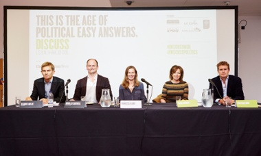 Guardian Live/Manchester Discuss panel, Manchester, 17 September 015