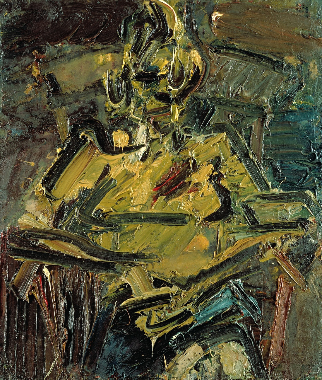Rum First Paint Sitting For Frank Auerbach It S Rather Like Being At The