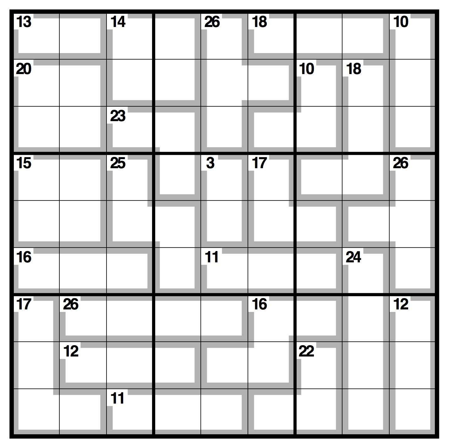 picture about 16 Square Sudoku Printable named Observer killer sudoku Existence and design The Mother or father