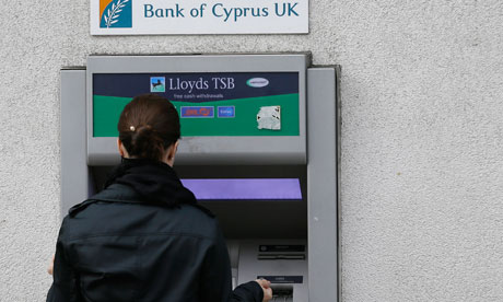 Bank of Cyprus cashpoint