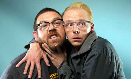 Simon Pegg and Nick Frost: the triumph of the nerds ...
