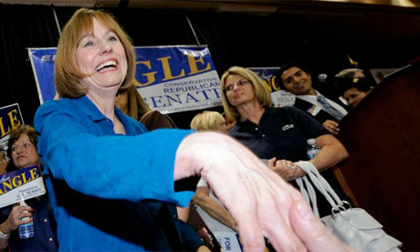 Sharron Angle Republican senatorial candidate in Nevada, 2010