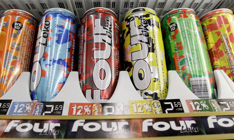 Four Loko banned by FDA