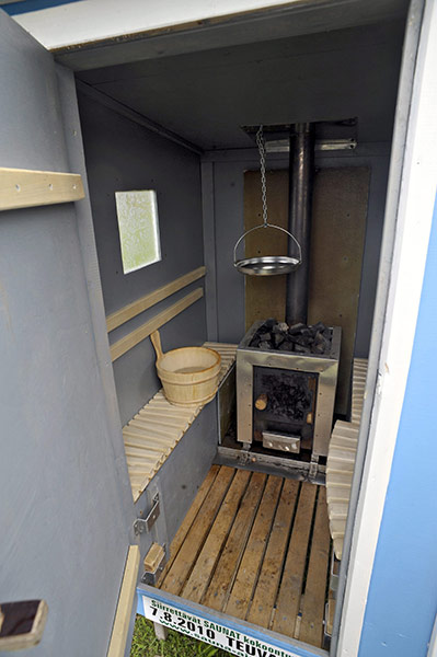 Make Your Own Car >> Mobile Sauna Festival in Teuva, Finland | Life and style ...