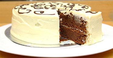 Curly Whirly Birthday Cake