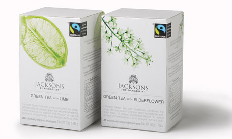 A range of teas from Jacksons of Piccadilly