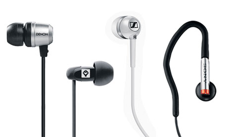 Six of the best: Earphones