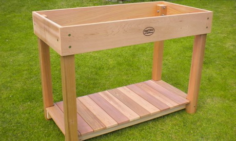Awesome A VeggyTable Raised Table Planter