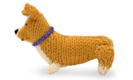 Knit your own royal wedding corgi