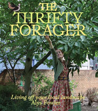 The cover of the book The Thrifty Forager by Alys Fowler