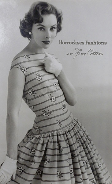 40s Style With M Co And Me: Horrockses: From 40s Fashion To Modern Homeware