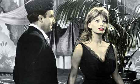 Peter Sellers and Sophie Loren in The Millionairess