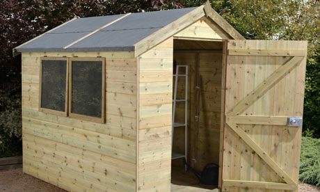 8x6 Ultimate Heavy Duty Shed from Buy Sheds Direct