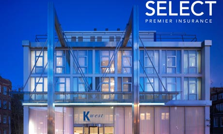 K West Hotel and Select insurance
