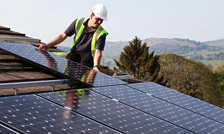 Solar Panels Loan Raises Roof For Households Money The