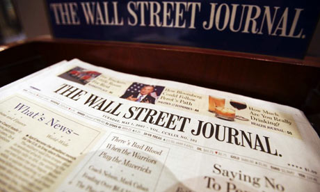 Wall Street Journal rapped over climate change stance ...