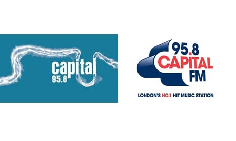Montage of Capital Radio logos