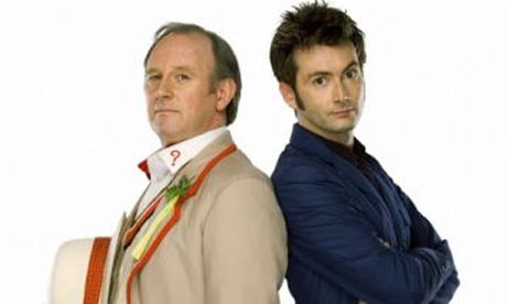 Doctor Who: Peter Davison and David Tennant
