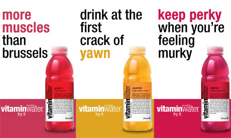 Coca Cola Ads For Glaceau Vitamin Water Banned Media
