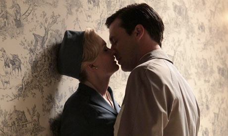 Mad Men: Don Draper (Jon Hamm) and Lorelai (Annie Little)