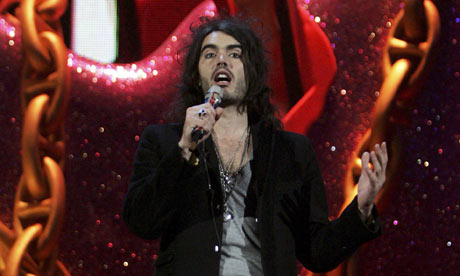 Brit Awards 2007: host Russell Brand